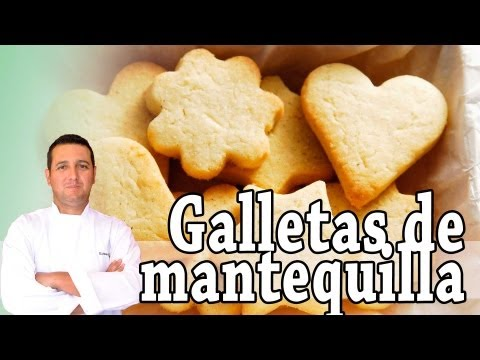 Galletas de mantequilla danesas - Recetas de cocina