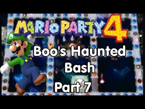 Mario Party 4! Boos Haunted Bash Part 7