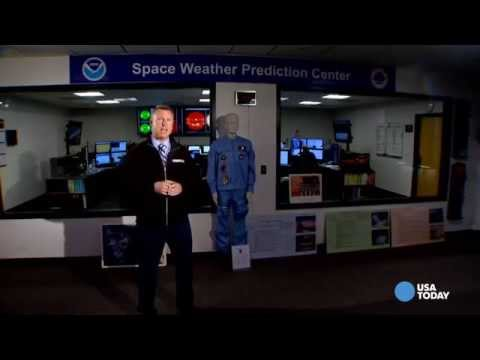 Space Weather Prediction Center- Is the power grid in danger?