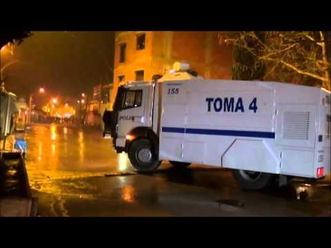turgutlu'da yine gerginlik polis tomayla olaylara müdahale etti 11 kişi gözaltına alındı