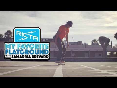 Samarria Brevard's Favorite Flatground Trick | Nollie Heelflip