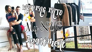 MOVING INTO MY NYC APARTMENT! VLOG | Paige Secosky