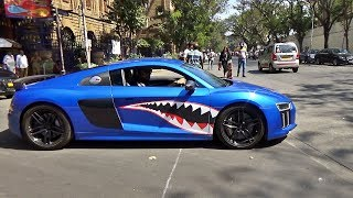 LOUD Supercars Leaving Car Meet - Aventador SV, F430, GT3 RS, Huracan, R8's & More