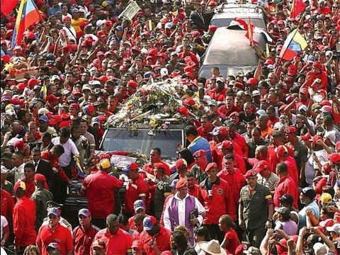 Venezuela despide a Hugo Chávez