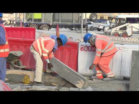 Amnesty: Qatar World Cup stadium workers suffer abuse
