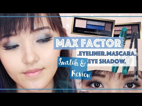 Make-Up BARU Max Factor - REVIEW & SWATCH