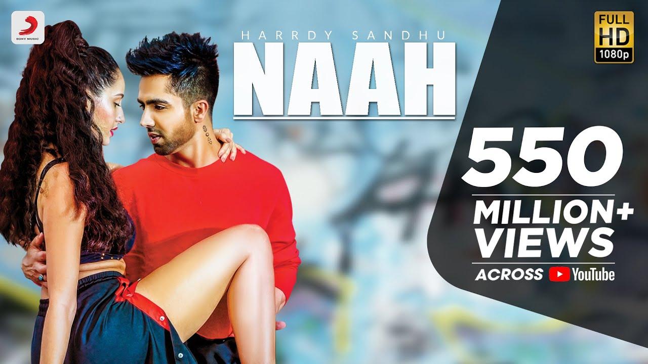Naah -  Harrdy Sandhu Feat. Nora Fatehi | Jaani | B Praak |Official Music Video |