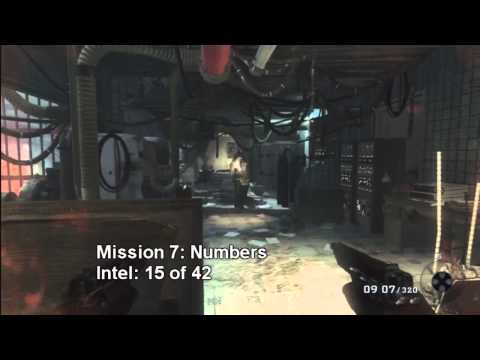 Call of Duty: Black Ops All Intel Locations