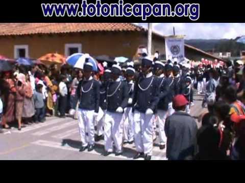 Desfile 15 de Septiembre Totonicapàn