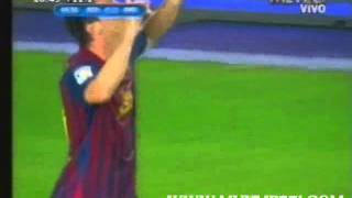 Messi vs. Real Madrid en la Supercopa 2011 (partido de vuelta)
