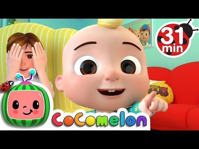 Peek a Boo Song  More Nursery Rhymes  Kids Songs - CoCoMelon