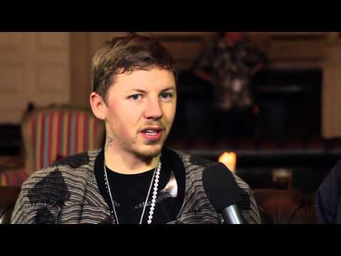 Professor Green Interview at Shakedown Festival 2012
