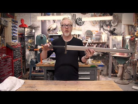 Adam Savage's One Day Builds: Foam Cosplay Sword!