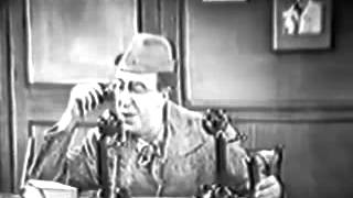 1950s The Ed Wynn Comedy Show episode 27 with Gloria Swanson