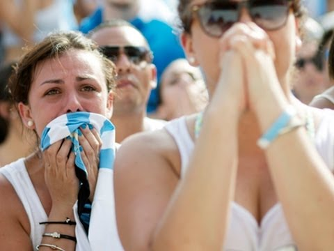 Argentina Fans Sad but Proud in Loss