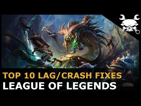 Top 10 Lag/Crash Fixes for League of Legends (Lower Ping & Reduce Lag!)
