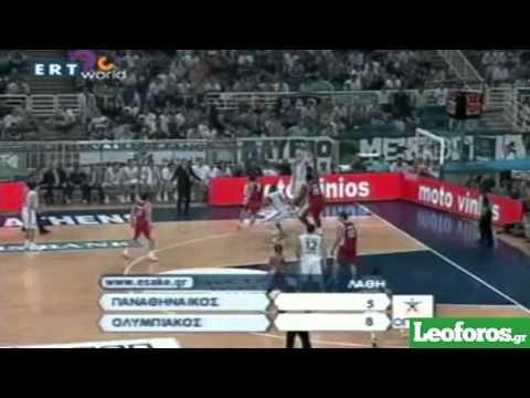 Παναθηναϊκός-Ολυμπιακός 79-72 1ος Τελικός 2006-2007