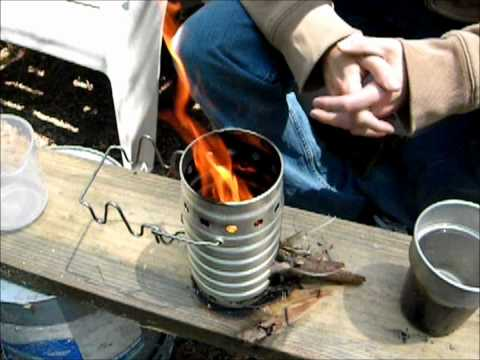 Swiss Army Volcano Stove