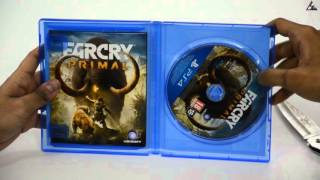 FARCRY PRIMAL SPECIAL EDITION PS4 UNBOXING
