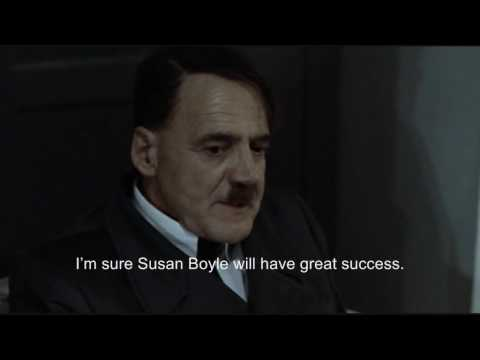 Hitler reacts to news that Susan Boyle did not win Britain's Got Talent