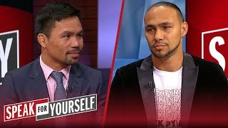 Keith Thurman doubles down on saying he's going to retire Manny Pacquiao | SPEAK FOR YOURSELF
