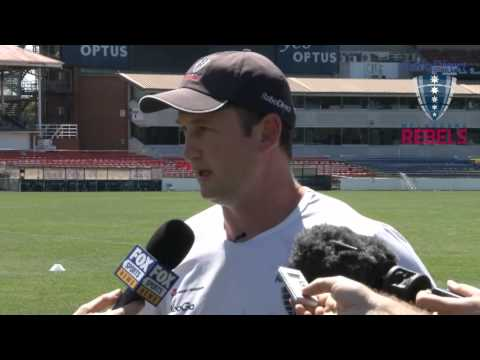 Rebels coach Damien Hill discusses Cipriani and the Rebels - Rebels coach Hill discusses Cipriani an