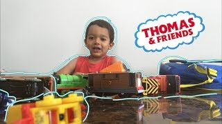 RYAN'S TOY TRAIN COLLECTION! | TOYS