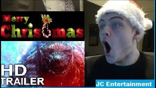 What i got for Christmas and Godzilla Monster Planet trailer 3 reaction
