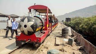 video Mini (Toy) Train at Elephanta Island, Maharashtra (February, 2014)