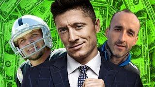 10 Najbogatszych POLSKICH sportowców