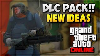 "GTA 5 DLC 1.16 ""DLC Pack"" Reveal Ideas! Heist In GTA V Online ! (GTA 5 Online Mods Gameplay)"