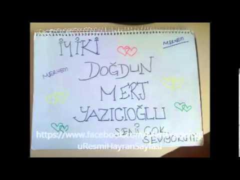 İyi ki Doğdun Mert Yazıcıoğlu :)