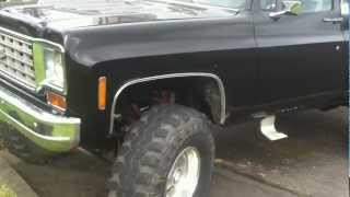 1976 Chevy K10 4x4 454 Lifted (Walk Around) For Sale
