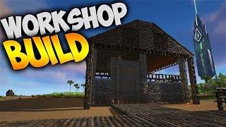 Short Workshop Build! - Ark Survival Evolved Gameplay