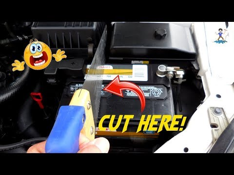 Salvaging a 12V Lead Acid Battery