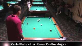 Hard Times 10-Ball - Shane VanBoening vs Carlo Biado / July 2013