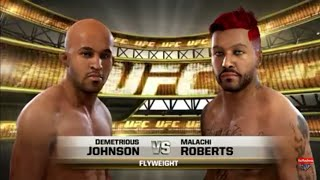 UFC (Johnson Vs Roberts)