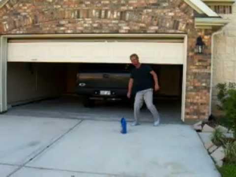Avoiding Garage Door Safety Sensors Avi Youtube