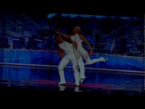 America's Got Talent Acro Balance Dancers 5.25.2012 Audition