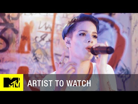 Halsey - 'Hold Me Down' (Exclusive Performance)   Artist to Watch   MTV