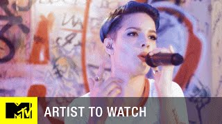 Halsey - 'Hold Me Down' (Exclusive Performance) | Artist to Watch | MTV