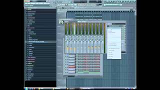 FL Studio 10 - How to make a House / Electro Beat - Tutorial (Part 2)