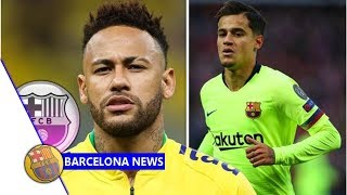 What Neymar thinks about Barcelona transfer as Philippe Coutinho nears Bayern Munich move- Barcel...