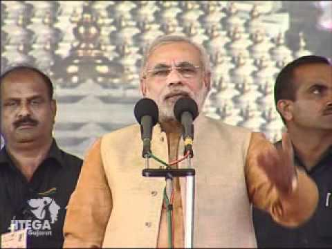 Narendra Modi concludes Sadbhavana Mission at temple town of Ambaji