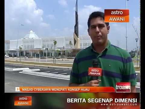 Masjid Cyberjaya menepati konsep hijau