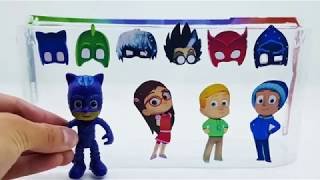 PRO Toys and Learn Pj mask kids Wrong Costumes and Masks Toys for Kids
