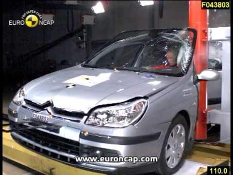 Euro NCAP   Citroen C5   2004   Crash test