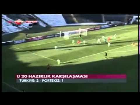 T�rkiye Portekiz Abdulkerim Bardakc� M�thi� Gol