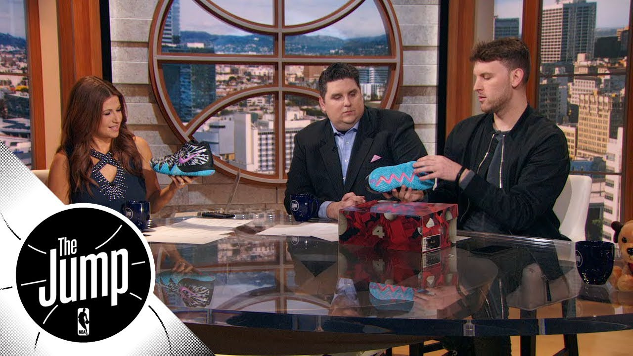 Kyrie Irving's All-Star Game sneakers include Illuminati third eye | The Jump | ESPN
