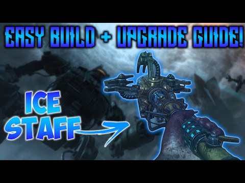 ORIGINS REMASTERED - ICE STAFF BUILD + UPGRADE! EASY TUTORIAL GUIDE (Black Ops 3 Zombies Chronicles)